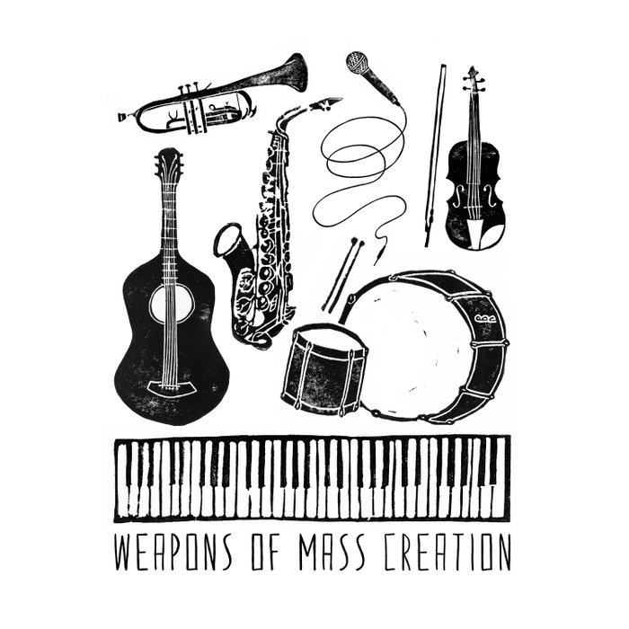 Weapons Of Mass Creation - Music Comforters