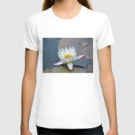 Water Lily in Pond T-shirt