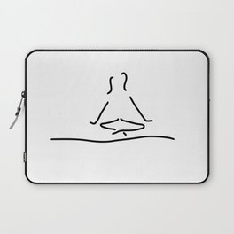 yoga joga meditation Laptop Sleeve