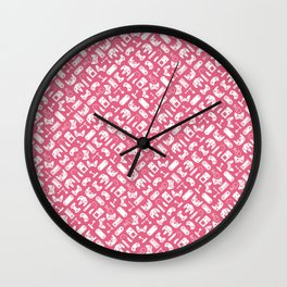 Control Your Game - Honeysuckle Wall Clock