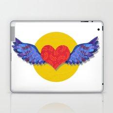 flying love Laptop & iPad Skin