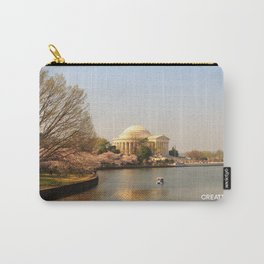Thomas Jefferson Memorial v2 - Photo Carry-All Pouch