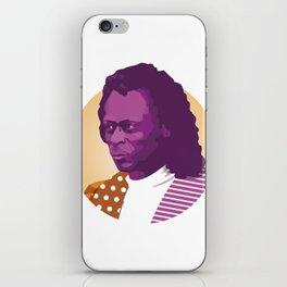 Jazz legend iPhone Skin