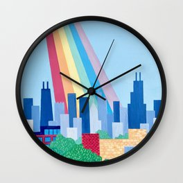 Bless This City Wall Clock