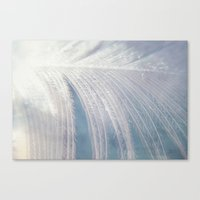 angel wings Canvas Prints featuring Angel Wings by Kimberley Britt