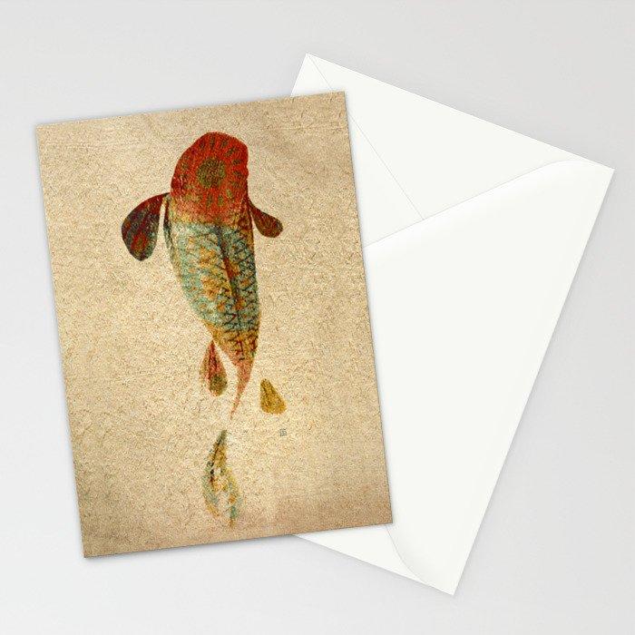 Mystic Koi Stationery Cards