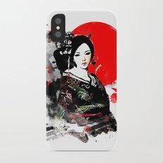 Kyoto Geisha Japan Slim Case iPhone X