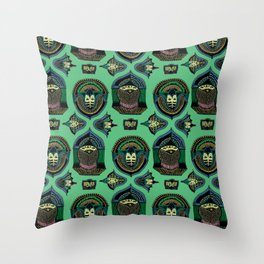 Entities in Flight Throw Pillow