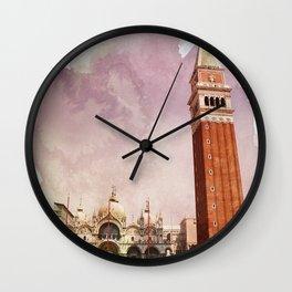 the Piazza Wall Clock
