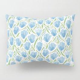 Sanguine Sway Light Blue Pillow Sham