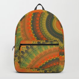 Autumn Inspired Mandala Backpack