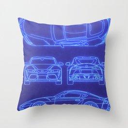 GR Supra Mk 5 Throw Pillow