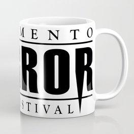 Sacramento Horror Film Festival Black Logo Coffee Mug