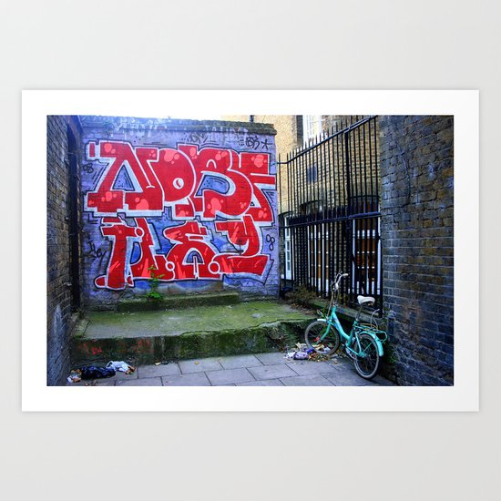 End Of The Alley Art Print