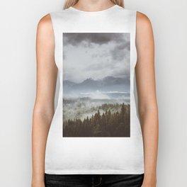 Misty mountains - Landscape and Nature Photography Biker Tank