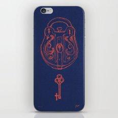 Lock and key iPhone & iPod Skin