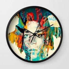 THE RADIANT CHILD (Jean-Michel Basquiat) Wall Clock