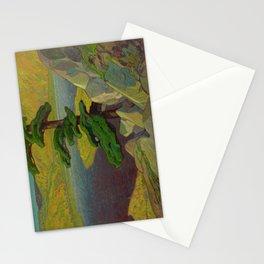 Canadian Landscape Oil Painting Franklin Carmichael Art Nouveau The Upper Ottawa near Mattawa Stationery Cards