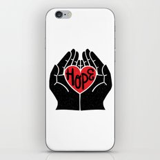 Hold hope in your heart iPhone & iPod Skin