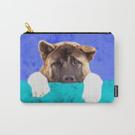 American Akita Puppy Carry-All Pouch