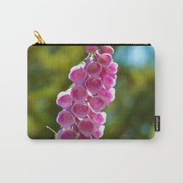 Foxglove Flowers Carry-All Pouch