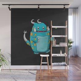 Cute Monster Wall Mural