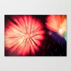 Fireworks - Philippines 5 Canvas Print