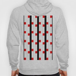 Tribute to mondrian 3- piet,geomtric,geomtrical,abstraction,de  stijl, composition. Hoody