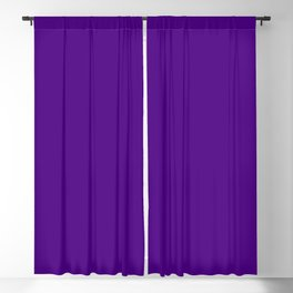 Solid Bright Purple Indigo Color Blackout Curtain