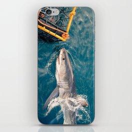 South Africa - Great White Shark Bite 1 iPhone Skin