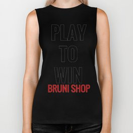 Play To Win Biker Tank