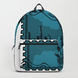 New York City Stamp Backpack