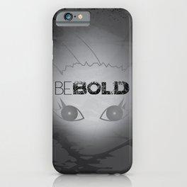 Bold White Cat iPhone Case