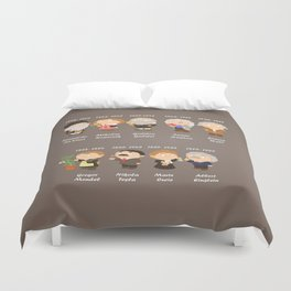 science Duvet Cover