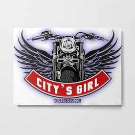 City's Girl Metal Print