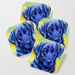 Colorful Labrador Retriever Dog Coaster