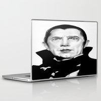 dracula Laptop & iPad Skins featuring Dracula by Leyla Buk