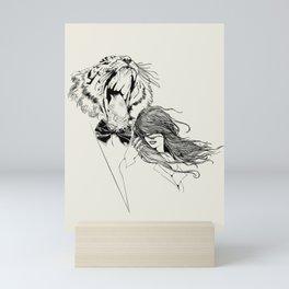 The Tiger's Roar Mini Art Print