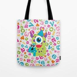 Birthday Monsters 4th Birthday Tote Bag