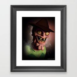 Scary Terry Framed Art Print