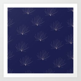 Flying seeds Art Print