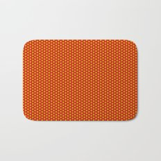 red and yellow Bath Mat