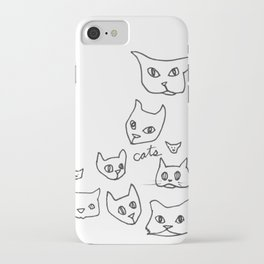 Cats Cat iPhone Case