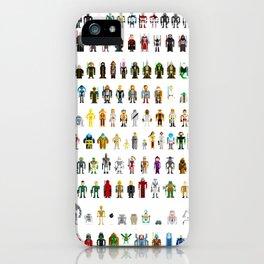 Pixel Wars iPhone Case