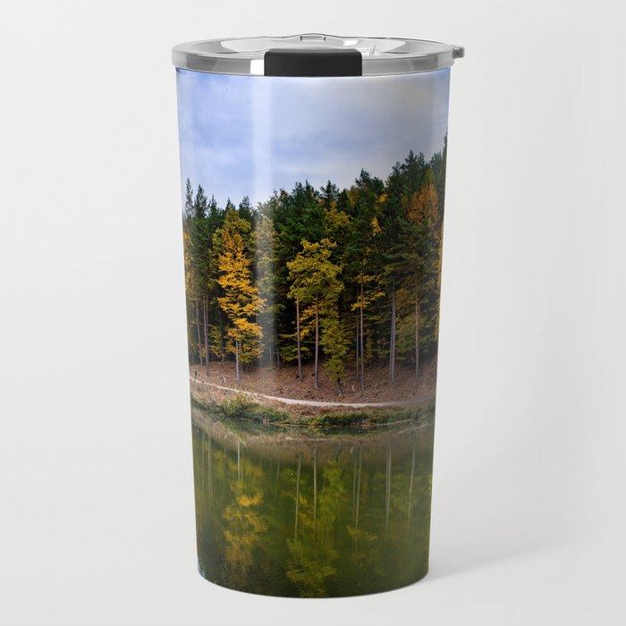 Autumn at the Lake Travel Mug