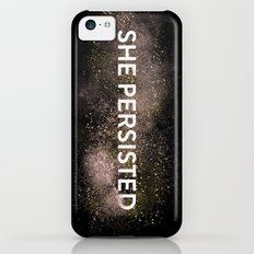 She Persisted - Gold Dust iPhone 5c Slim Case