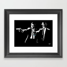 Say My Name One More Time Framed Art Print