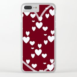 Bursting with Love Clear iPhone Case