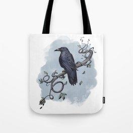 Carrion Crow Tote Bag