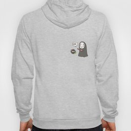 No-Face in Love of SootBall Hoody